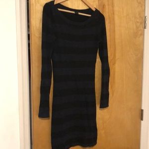 Striped French Connection Sweater dress